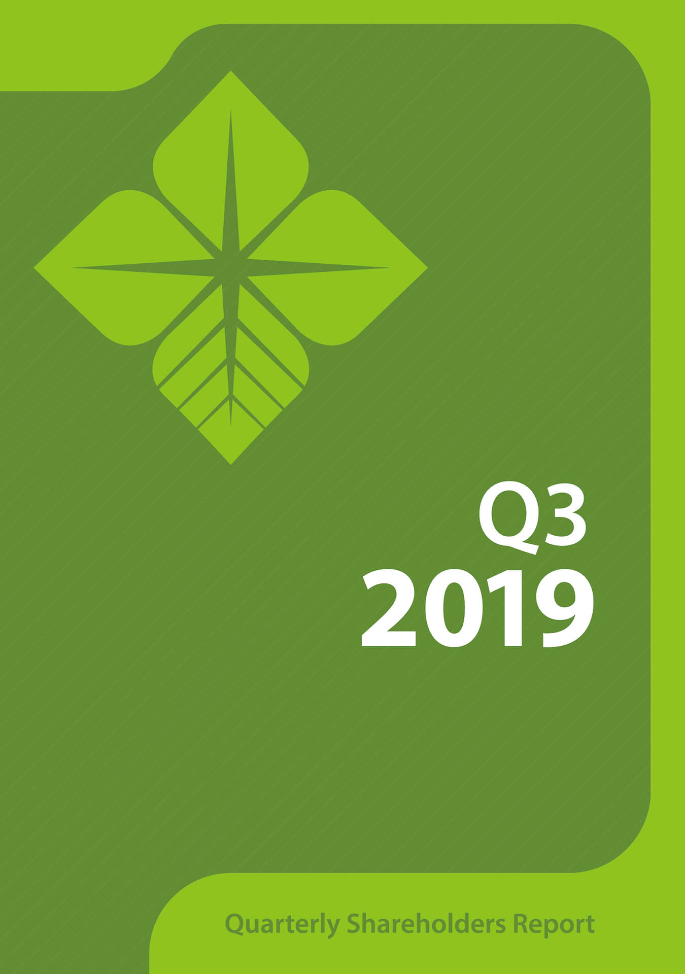 Download the Quarterly Shareholders Report (Q3 - 2019)