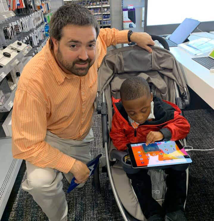 Ag For Autism Grants provide iPads for local students.