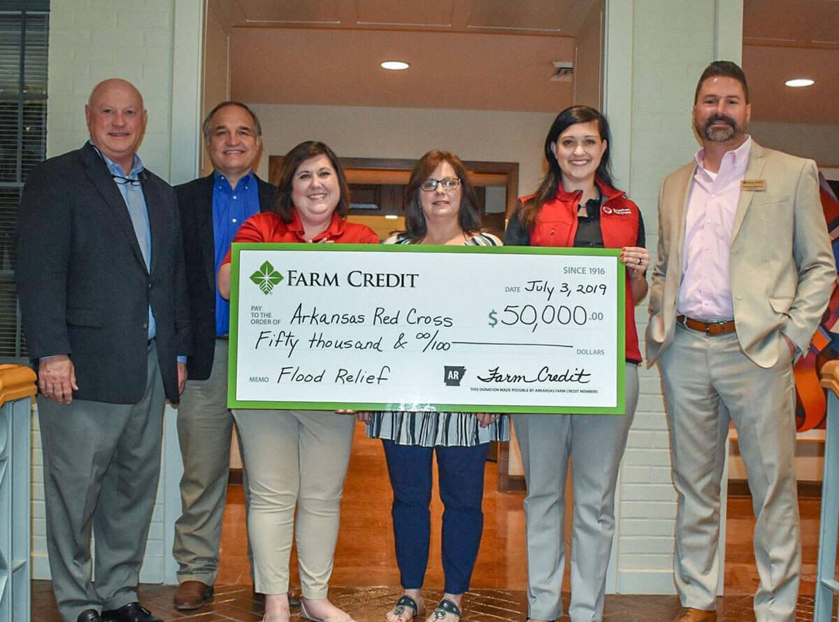Farm Credit donates $50,000 to Arkansas Red Cross flood relief