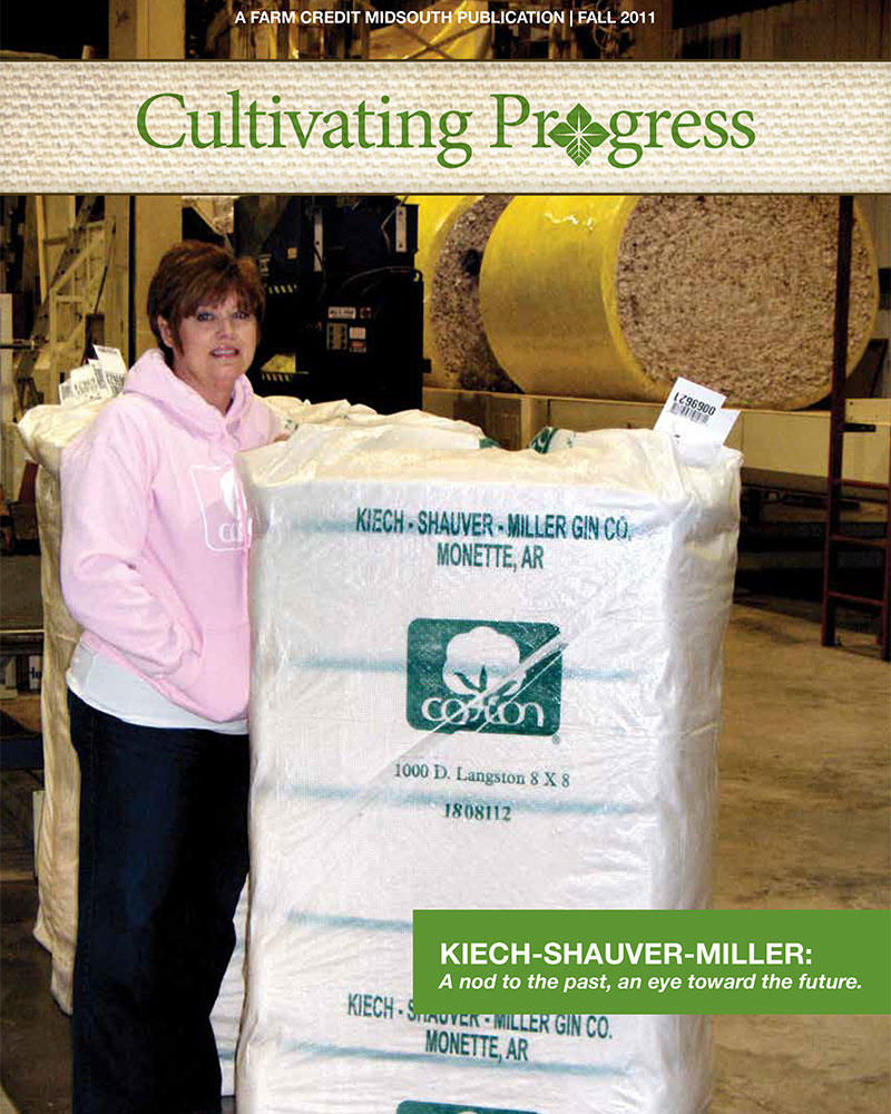 2011 Fall Cultivating Progress Cover