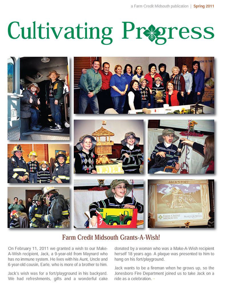 2011 Spring Cultivating Progress Cover