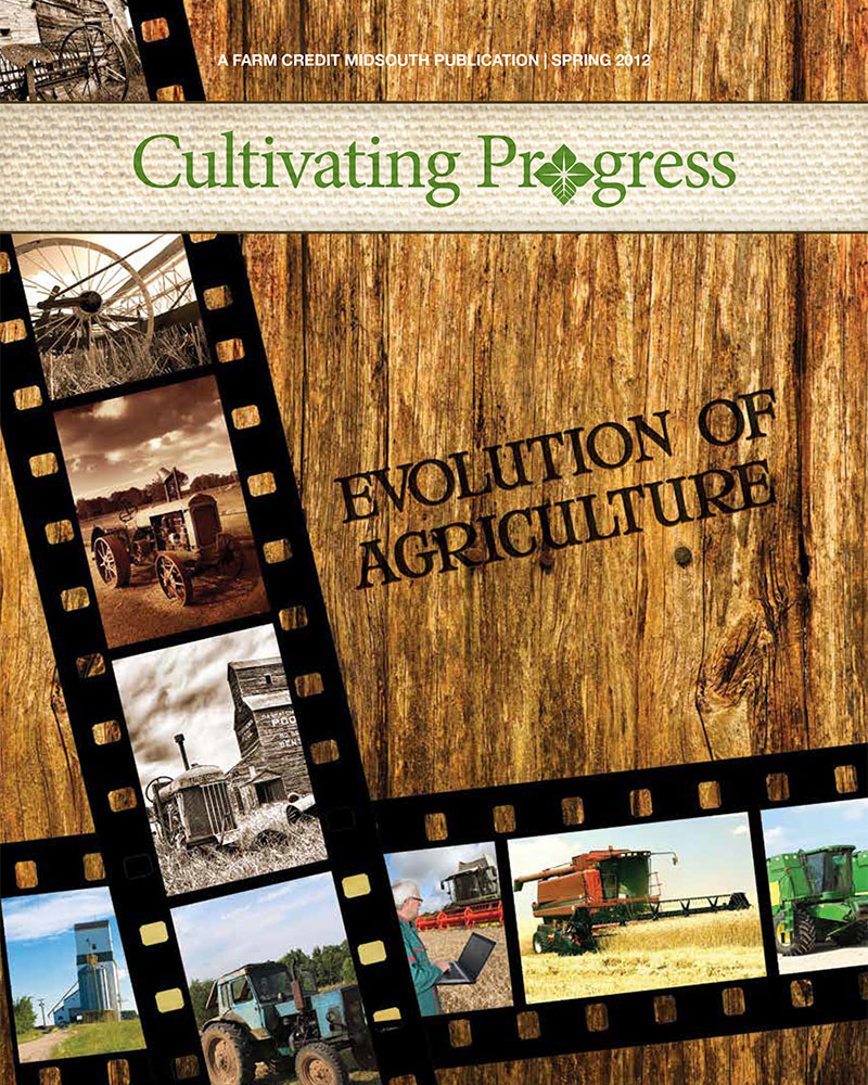 2012 Spring Cultivating Progress Cover