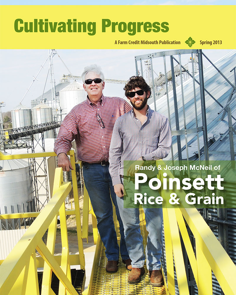 2013 Spring Cultivating Progress Cover