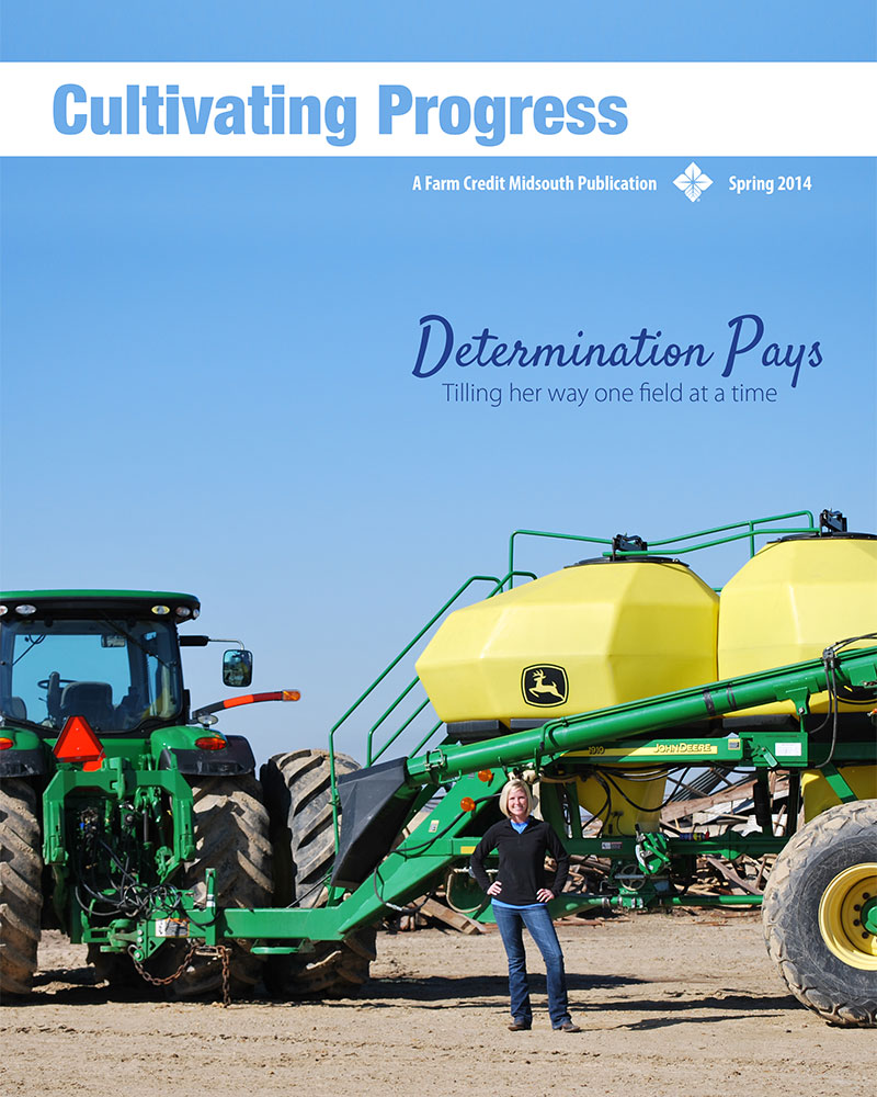 2014 Spring Cultivating Progress Cover