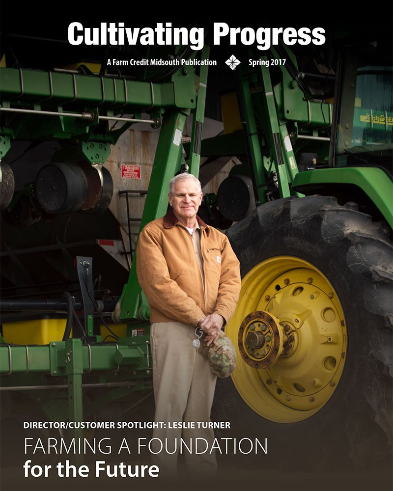 2017 Spring Cultivating Progress Cover