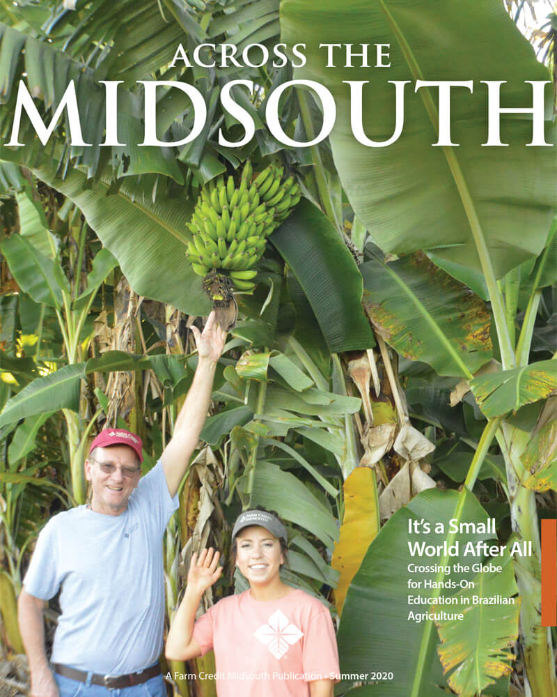 2020 Summer Across The Midsouth Cover